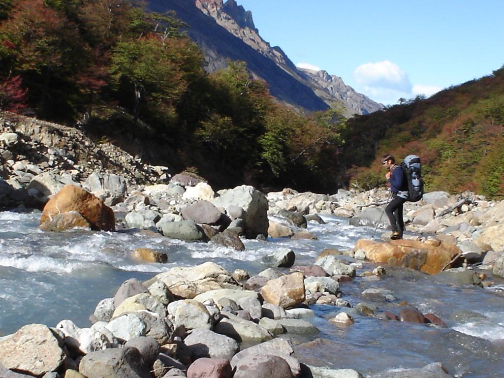 Expedición en Patagonia